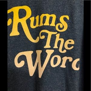 NWT Wildfox Rum's The Word Lightweight Sweatshirt
